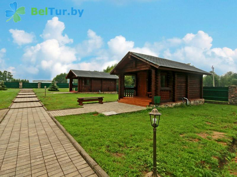 Отдых в Белоруссии Беларуси - база отдыха Слободка - коттеджи №6, 7