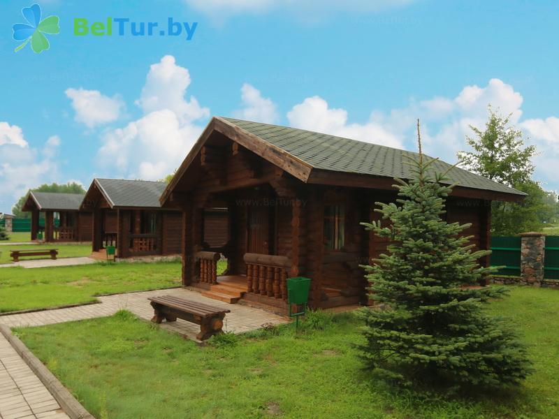 Отдых в Белоруссии Беларуси - база отдыха Слободка - коттедж №8