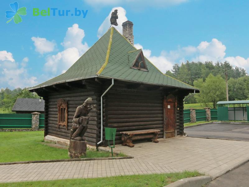 Отдых в Белоруссии Беларуси - база отдыха Слободка - баня