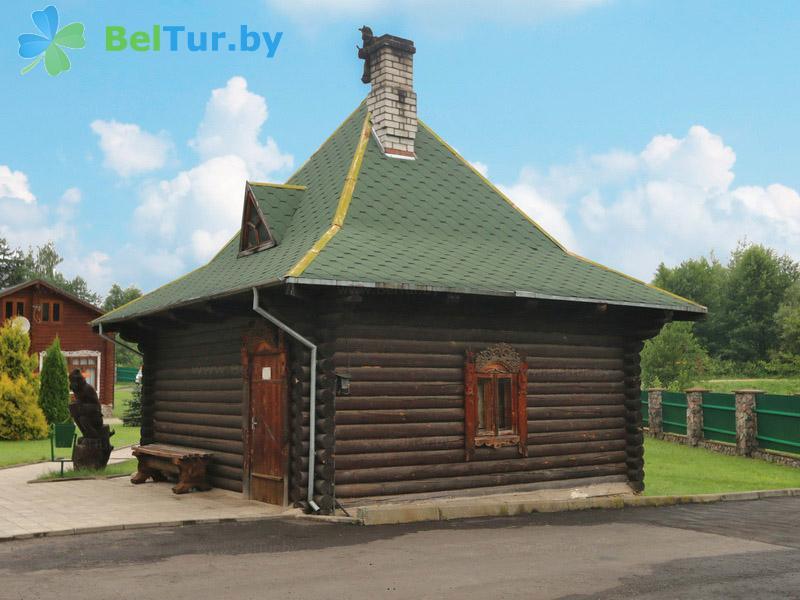 Отдых в Белоруссии Беларуси - база отдыха Слободка - Баня русская