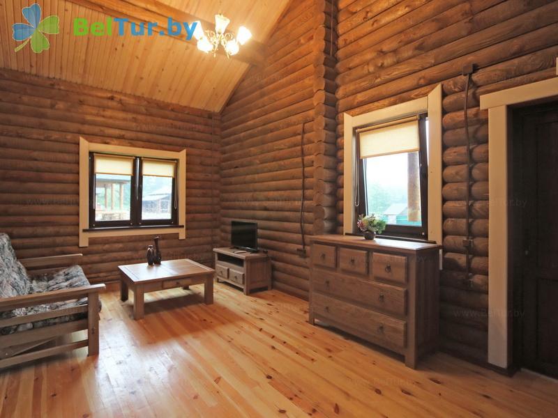 Отдых в Белоруссии Беларуси - база отдыха Слободка - двухместный двухкомнатный (коттеджи №1-5)