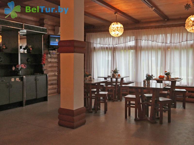 Отдых в Белоруссии Беларуси - база отдыха Слободка - Столовая
