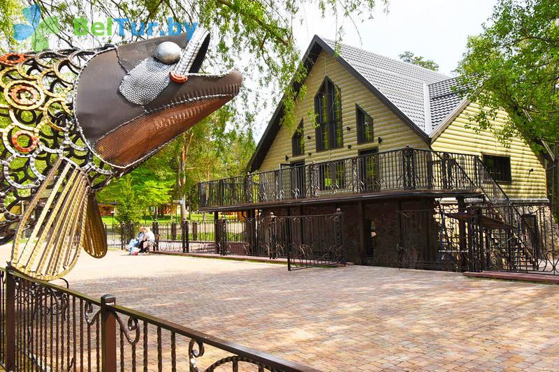 Отдых в Белоруссии Беларуси - туристический комплекс Хатки - Территория и природа