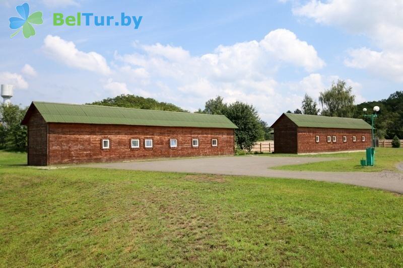Отдых в Белоруссии Беларуси - туристический комплекс Дорошевичи - Здания