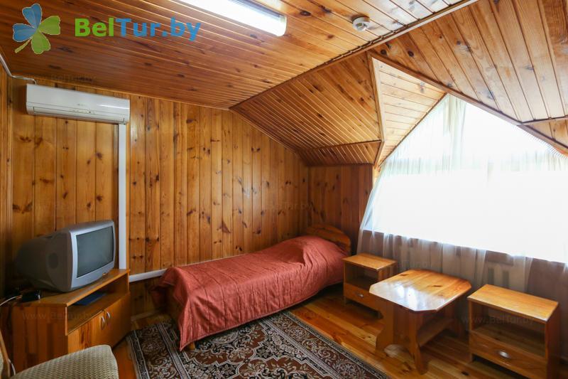 Отдых в Белоруссии Беларуси - туристический комплекс Дорошевичи - двухместный однокомнатный (коттедж №3)