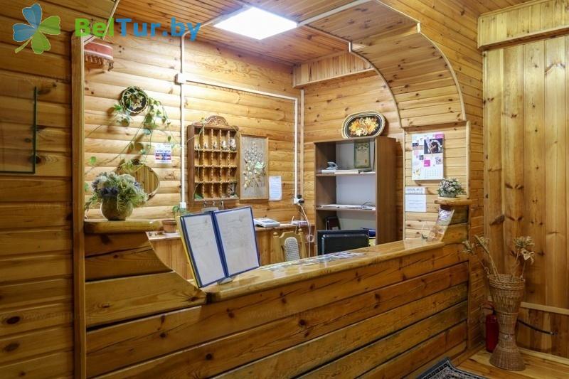 Отдых в Белоруссии Беларуси - туристический комплекс Дорошевичи - Регистратура