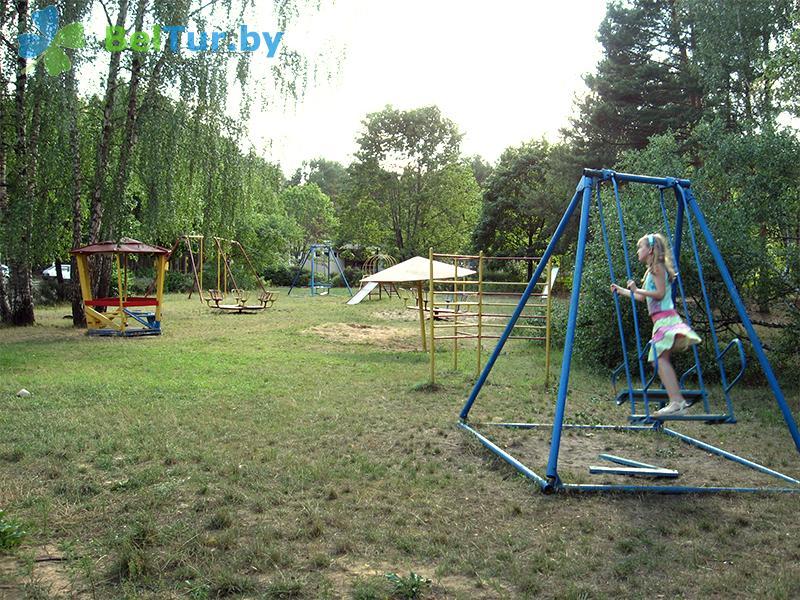 Отдых в Белоруссии Беларуси - база отдыха Нарочанка - Детская площадка