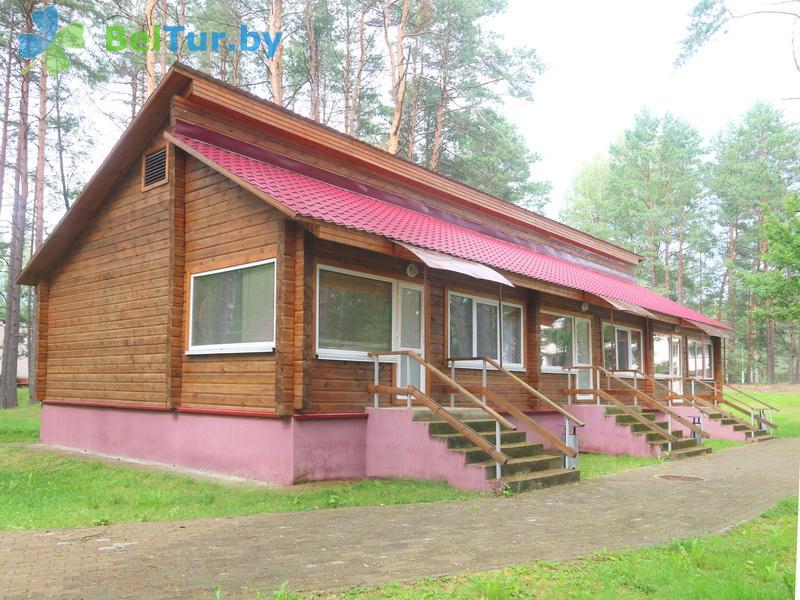 Отдых в Белоруссии Беларуси - база отдыха Нарочанка - коттедж