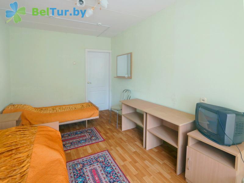 Отдых в Белоруссии Беларуси - база отдыха Нарочанка - двухместный однокомнатный (главный корпус)