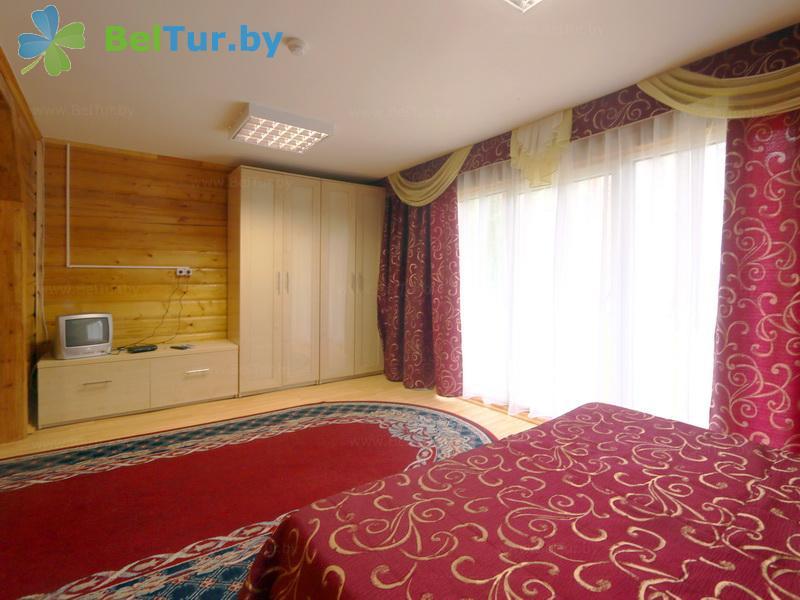 Отдых в Белоруссии Беларуси - база отдыха Нарочанка - двухместный однокомнатный (коттедж)