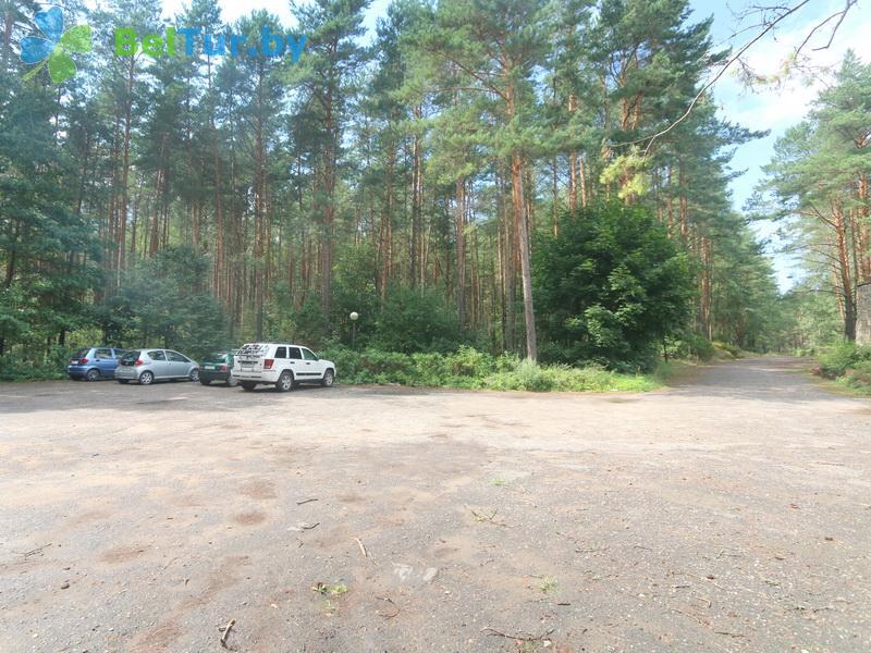 Отдых в Белоруссии Беларуси - база отдыха Нарочанка - Парковка