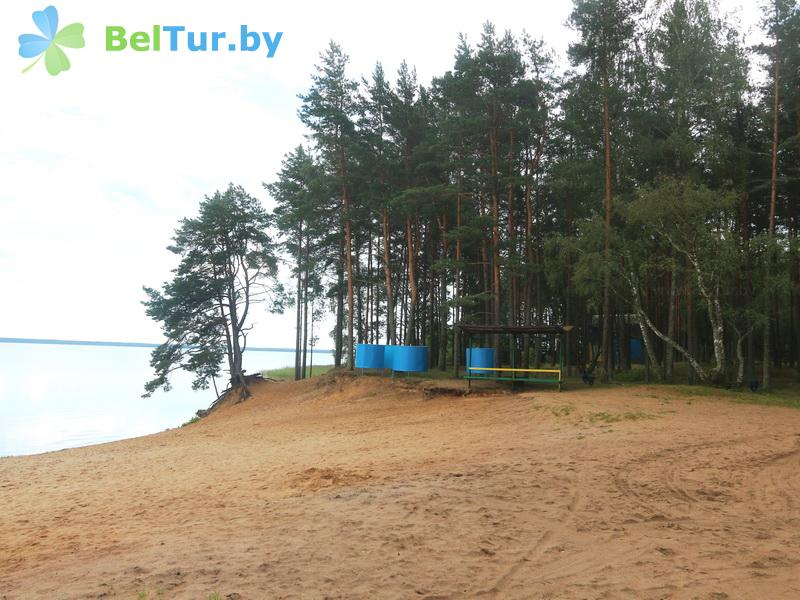 Rest in Belarus - recreation center Narochanka - Beach