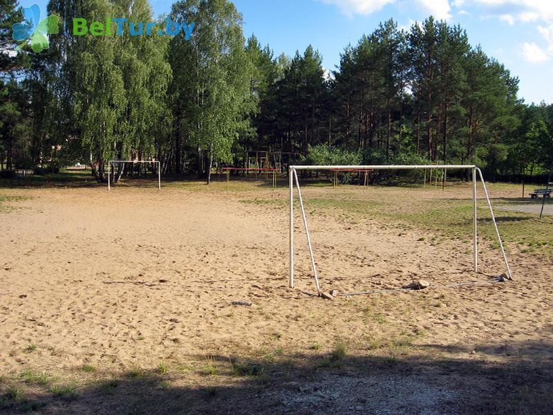 Отдых в Белоруссии Беларуси - база отдыха Нарочанка - Спортплощадка