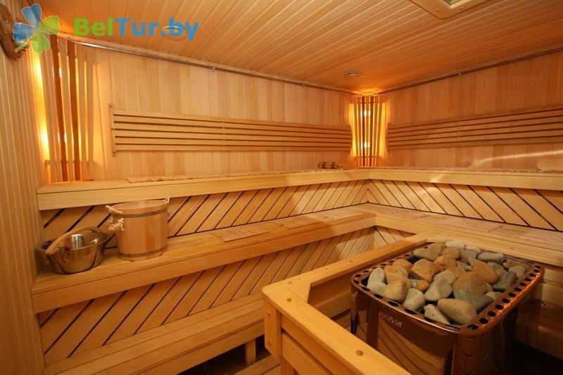 Отдых в Белоруссии Беларуси - гостиничный комплекс Огонёк - Сауна