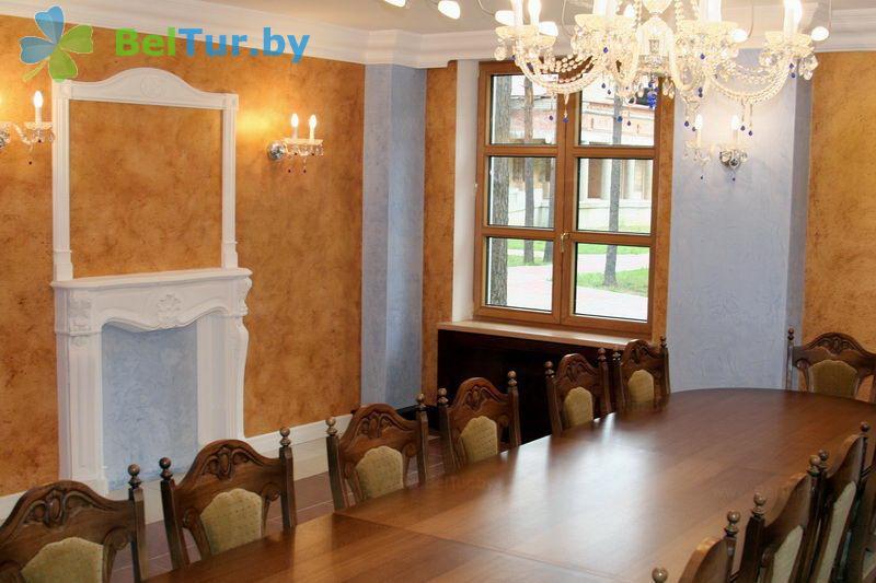 Отдых в Белоруссии Беларуси - гостиничный комплекс Огонёк - Банкетный зал