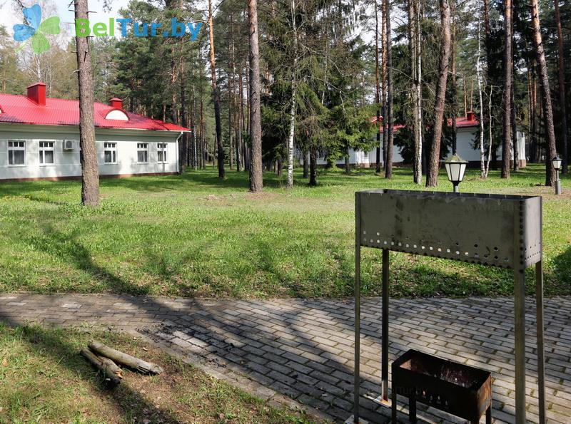 Отдых в Белоруссии Беларуси - гостиничный комплекс Огонёк - Площадка для шашлыков