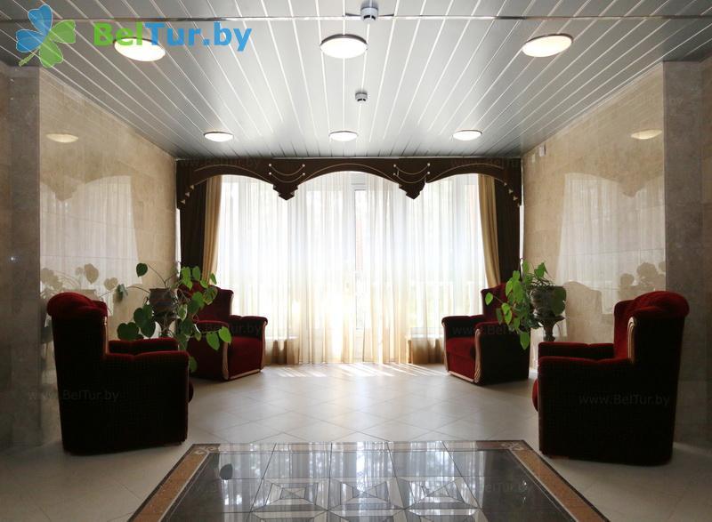 Отдых в Белоруссии Беларуси - гостиничный комплекс Огонёк - Регистратура