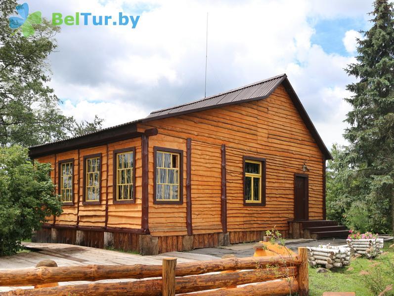 Отдых в Белоруссии Беларуси - дом охотника Выгоновский - бильярдная