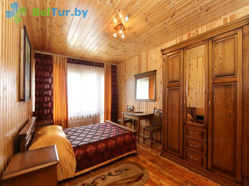 Отдых в Белоруссии Беларуси - дом охотника Выгоновский - одноместный однокомнатный люкс (дом охотника)