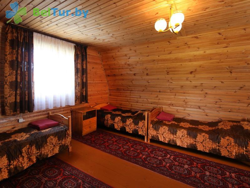 Отдых в Белоруссии Беларуси - дом охотника Выгоновский - четырехместный (летний домик)