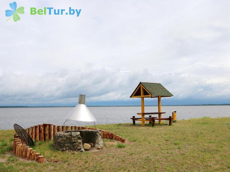 Отдых в Белоруссии Беларуси - дом охотника Выгоновский - Площадка для шашлыков