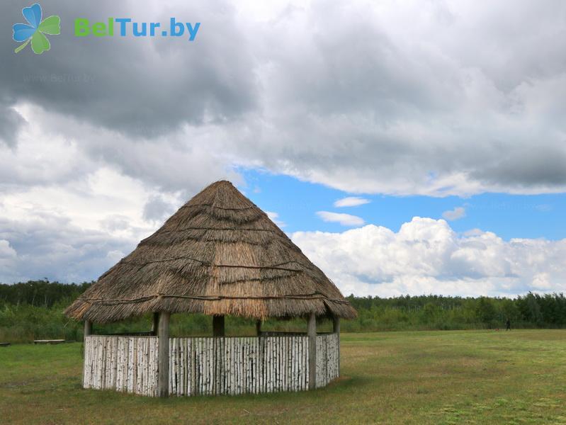 Отдых в Белоруссии Беларуси - дом охотника Выгоновский - Беседка