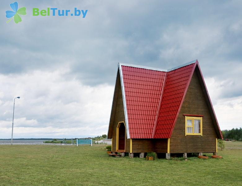 Отдых в Белоруссии Беларуси - дом охотника Выгоновский - летний домик №2