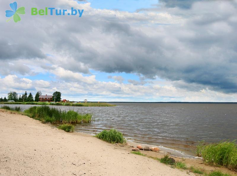Адпачынак у Беларусі - хата паляўнічага Выганаўская - Пляж