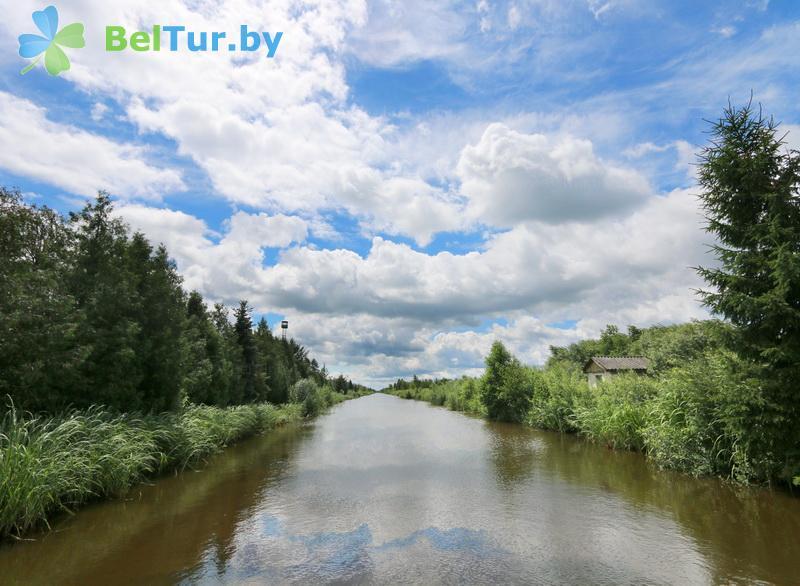 Отдых в Белоруссии Беларуси - дом охотника Выгоновский - Водоём