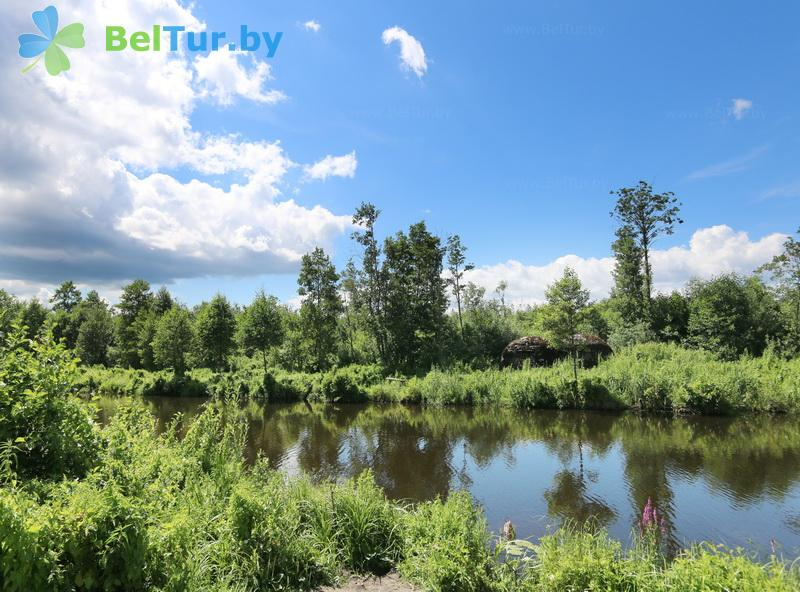 Rest in Belarus - hunter's house Vygonovsky - Territory