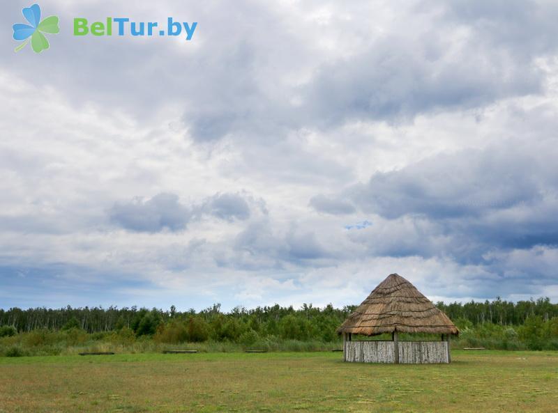 Отдых в Белоруссии Беларуси - дом охотника Выгоновский - Площадка для палаток