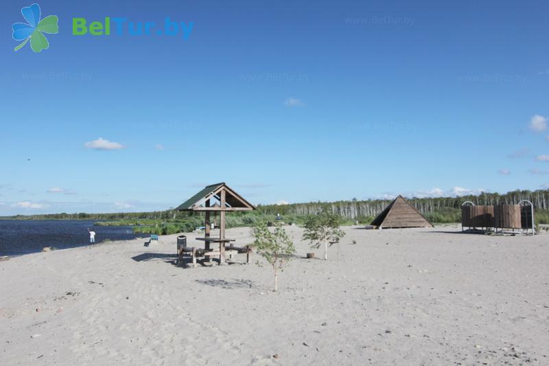 Отдых в Белоруссии Беларуси - дом охотника Выгоновский - Пляж