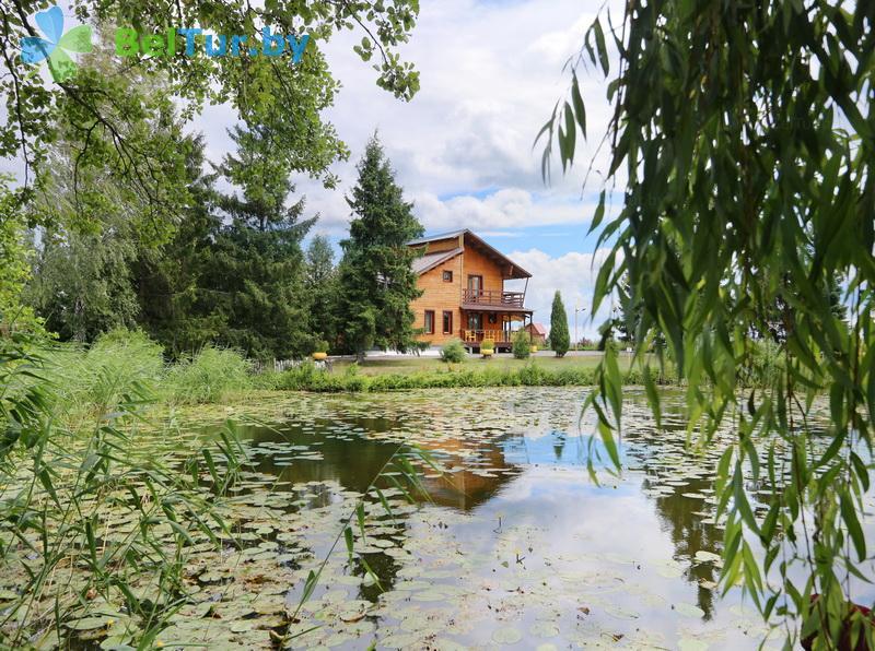 Отдых в Белоруссии Беларуси - дом охотника Выгоновский - Территория и природа