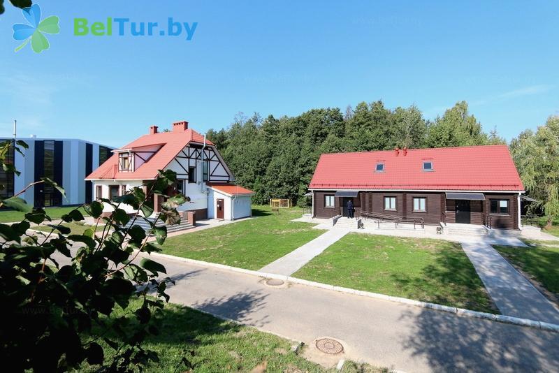 Отдых в Белоруссии Беларуси - база отдыха Ратомка - Территория и природа
