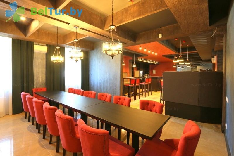 Отдых в Белоруссии Беларуси - база отдыха Ратомка - Ресторан