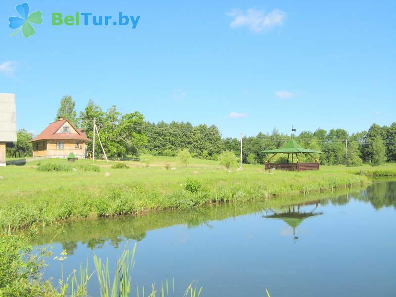 Отдых в Белоруссии Беларуси - дом охотника Глубокский - Водоём