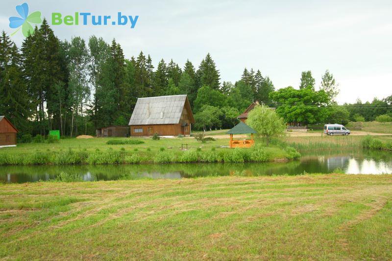 Отдых в Белоруссии Беларуси - дом охотника Глубокский - Территория и природа