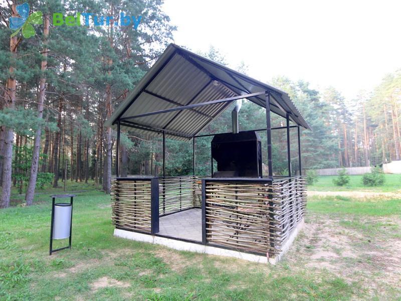 Отдых в Белоруссии Беларуси - дом охотника Крупский - Площадка для шашлыков