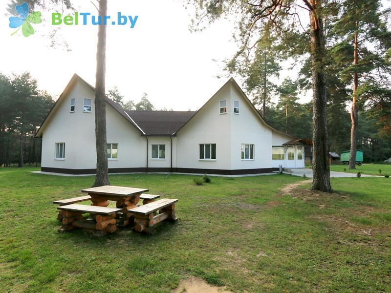 Отдых в Белоруссии Беларуси - дом охотника Крупский - дом охотника