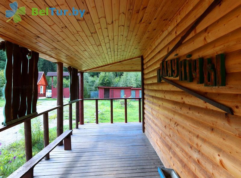 Отдых в Белоруссии Беларуси - дом охотника Ковальцы - банкетный зал