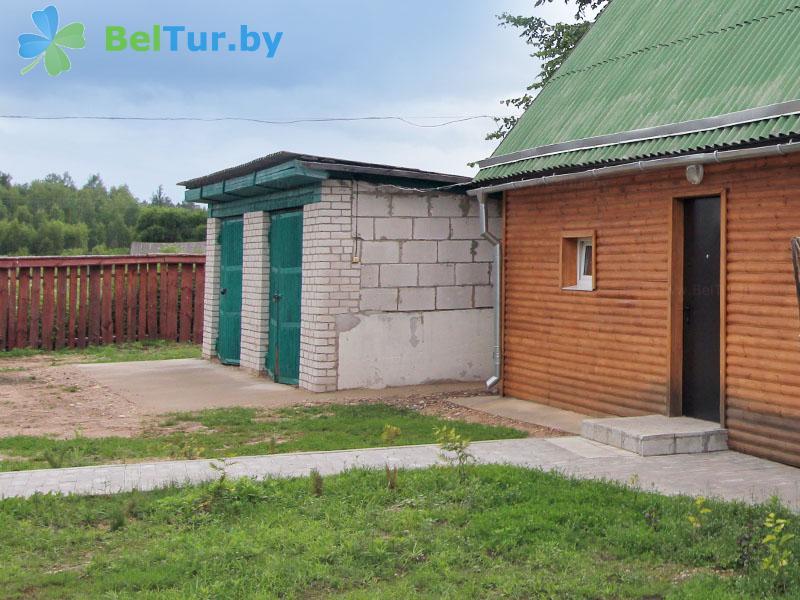 Отдых в Белоруссии Беларуси - дом охотника Пуховичский - Парковка