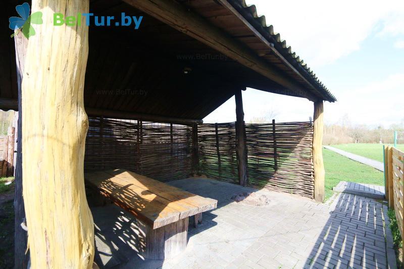 Отдых в Белоруссии Беларуси - дом охотника Пуховичский - Площадка для шашлыков