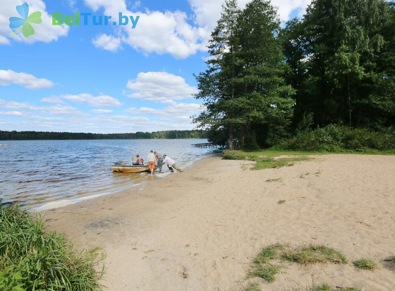 Отдых в Белоруссии Беларуси - туристический комплекс Кромань - Пляж