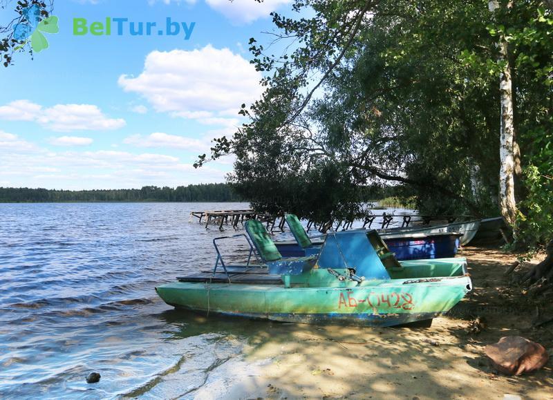 Отдых в Белоруссии Беларуси - туристический комплекс Кромань - Прокат лодок