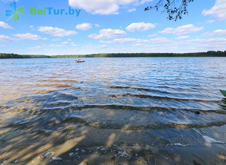 Отдых в Белоруссии Беларуси - туристический комплекс Кромань - Рыбалка