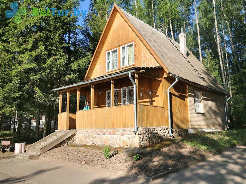 Отдых в Белоруссии Беларуси - база отдыха Актам - домик №6
