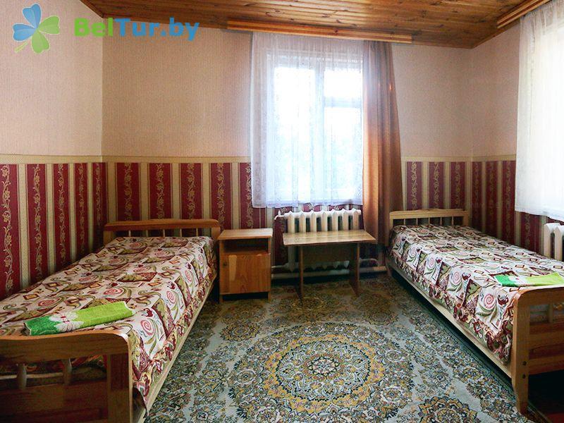 Отдых в Белоруссии Беларуси - база отдыха Актам - двухместный однокомнатный стандарт (домики №1-5)