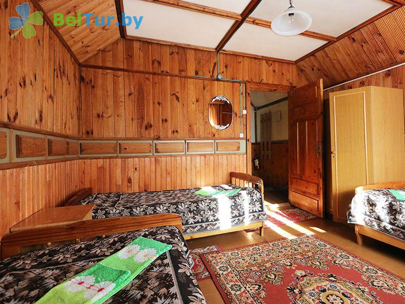 Отдых в Белоруссии Беларуси - база отдыха Актам - трехместный однокомнатный стандарт (домики №1-5)