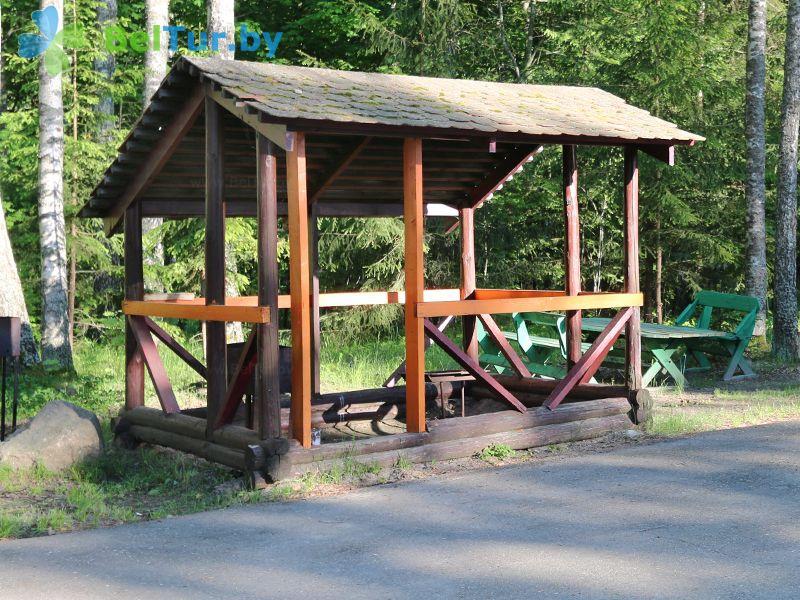 Отдых в Белоруссии Беларуси - база отдыха Актам - Площадка для шашлыков