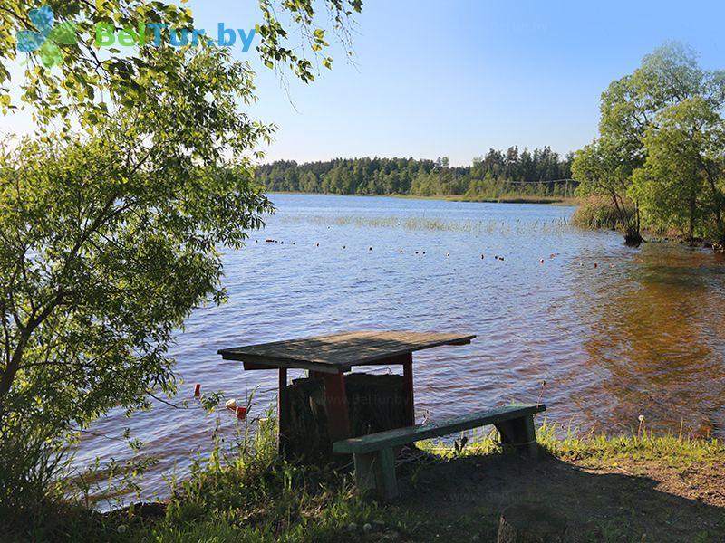 Отдых в Белоруссии Беларуси - база отдыха Актам - Водоём